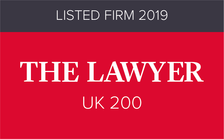 The Lawyer UK200 - Listed Firm 2015